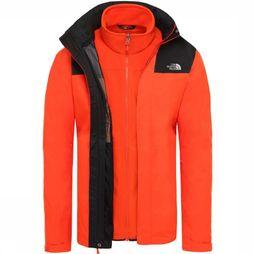 The North Face Coat Evolution II Triclimate red/black