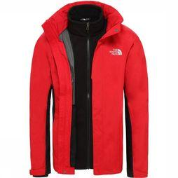 The North Face Manteau Evolution II Triclimate Rouge/Noir