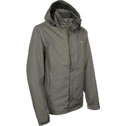 Ayacucho Coat Re-Bottled Eco 3In1 dark grey