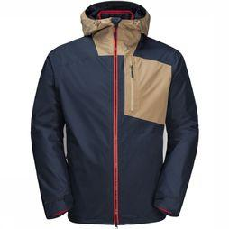 Jack Wolfskin Coat 365 Twentyfourseven 3In1 blue/red