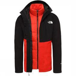 The North Face Coat Mountain Light Triclimate red/black