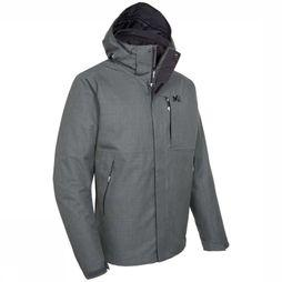 Millet Coat Yellowstone 3In1 dark grey