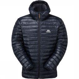 Mountain Equipment Donsjas Arete Hooded Donkerblauw
