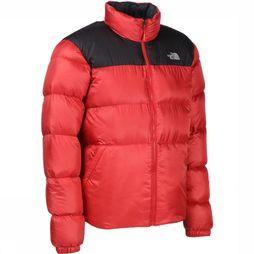 The North Face Doudoune Nuptse III Rouge/Noir