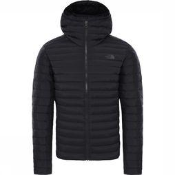 The North Face Donsjas Stretch Down Hoodie Zwart
