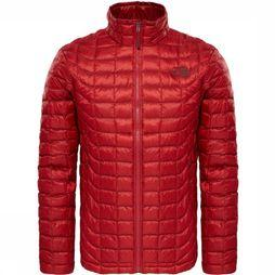 The North Face Manteau Thermoball Rouge/Rouge Foncé