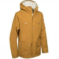 Fjällräven Coat Greenland Winter dark yellow