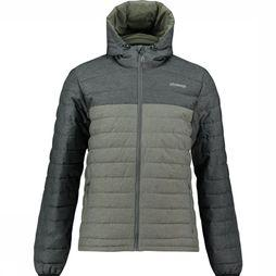 Ayacucho Manteau 10Y Mount Everest Hooded Noir/Gris Foncé