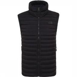 The North Face Bodywarmer Stretch Down Zwart