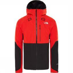 The North Face Manteau Apex Flex 2.0 Gore-Tex Rouge Moyen/Noir
