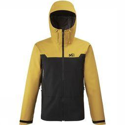 Millet Coat Kamet Gore-Tex 3L yellow/black