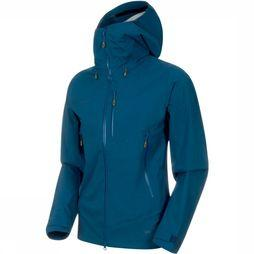 Mammut Coat Kento HS Hooded blue