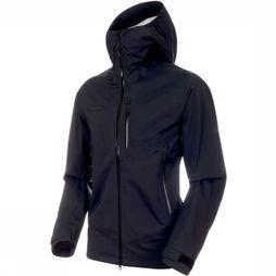 Mammut Jas Kento HS Hooded Zwart