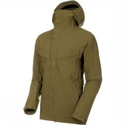 Mammut Coat Zinal HS Hooded light khaki