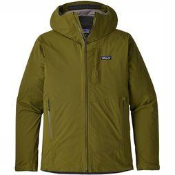 Patagonia Coat Rainshadow dark green
