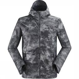 Eider Coat Brockwell Jacquard dark grey/Assortment Camouflage