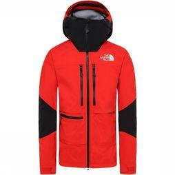 The North Face Coat Summit L5 Futurelight red/black