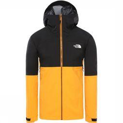 The North Face Manteau Impendor Futurelight Noir/Orange