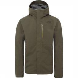 The North Face Manteau Dryzzle Futurelight Kaki Foncé
