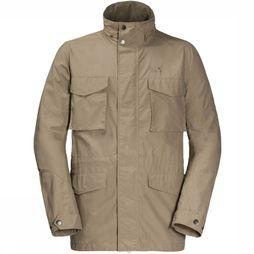 Jack Wolfskin Manteau Freemont Field Brun Sable