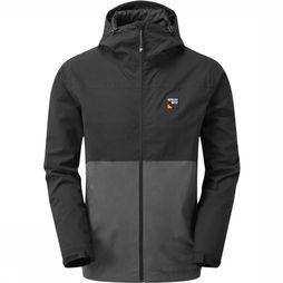 Sprayway Coat Hergen black/dark grey
