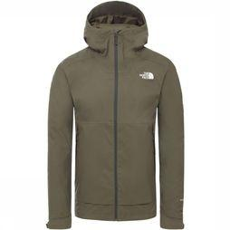The North Face Coat Millerton dark grey/dark khaki