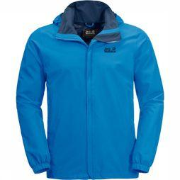 Jack Wolfskin Manteau Stormy Point Bleu Clair