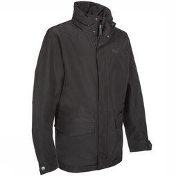Jack Wolfskin Coat Zay dark grey