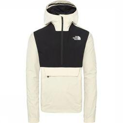 The North Face Coat Waterproof Fanorak white/black