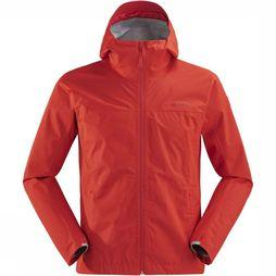 Eider Waterproof Jacket Rythm red