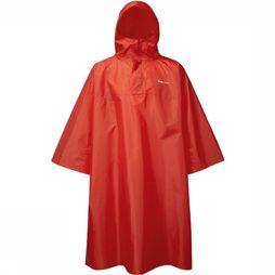 Trekmates Poncho Deluxe Poncho - Rugzakponcho Rouge