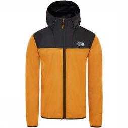 The North Face Windstopper Cyclone 2 Hoody Zwart/Donkergeel