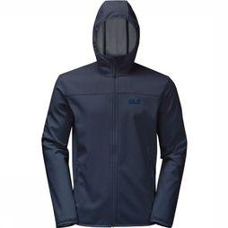 Jack Wolfskin Softshell Northern Point Marine