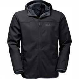 Jack Wolfskin Softshell Northern Point Zwart