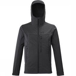 Millet Softshell Track dark grey