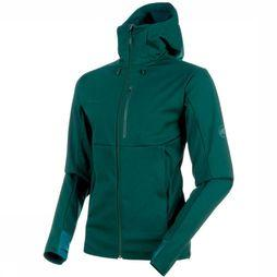 Mammut Softshell Ultimate V SO dark green