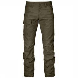 Fjällräven Trousers Nils dark brown