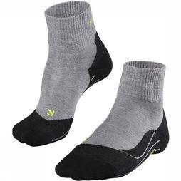 Falke Sock TK5 Ultra Light light grey/black