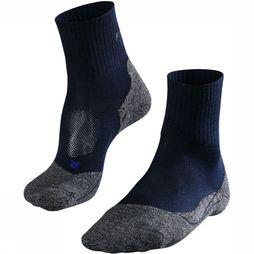 Falke Sock TK2 Cool Short dark blue/mid blue