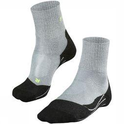 Falke Sock TK2 Cool Short light grey/black