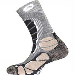 Monnet Sock Pro Wool X-Light Sand/Dark Grey Mixture
