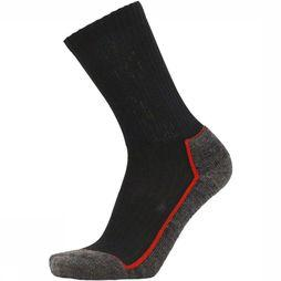 UphillSport Sock Saana black/red