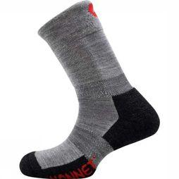 Monnet Sock Trek Comfort light grey/black
