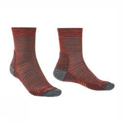 Bridgedale Sock Hike Ultra Light T2 mid red