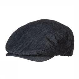 Ayacucho Cap Flatcap Denim black