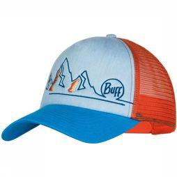 Buff Casquette Trucker Bleu/Orange