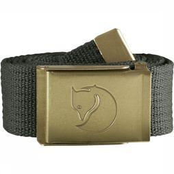 Fjällräven Belt Canvas Brass mid grey