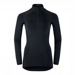 Odlo Underwear Evolution Warm 1/2 Zip Ts Ml black