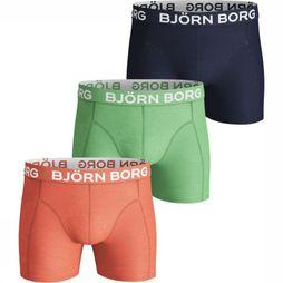 Bjorn Borg Ondergoed Seasonal Solid 3P Assortiment