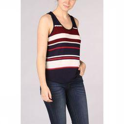 Kaporal T-Shirt Round With Stripes marine/Rouge
